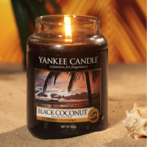 Bougie Yankee Candle black coconut